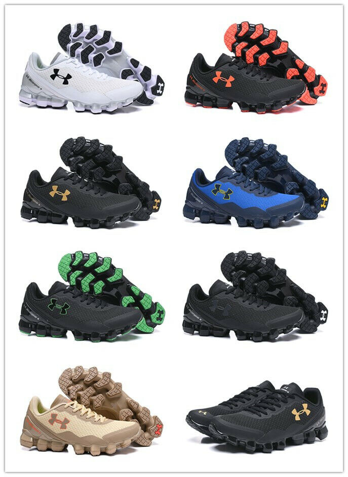Under Armour Scorpio 3 Mens Black Running Road Sports Shoes Trainers US7-11