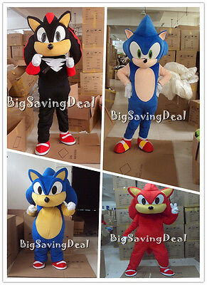 Cartoon Character Mascot Costume Hedgehog Cosplay Suit Parade Dress Adult Unisex](Hedgehog Suit)