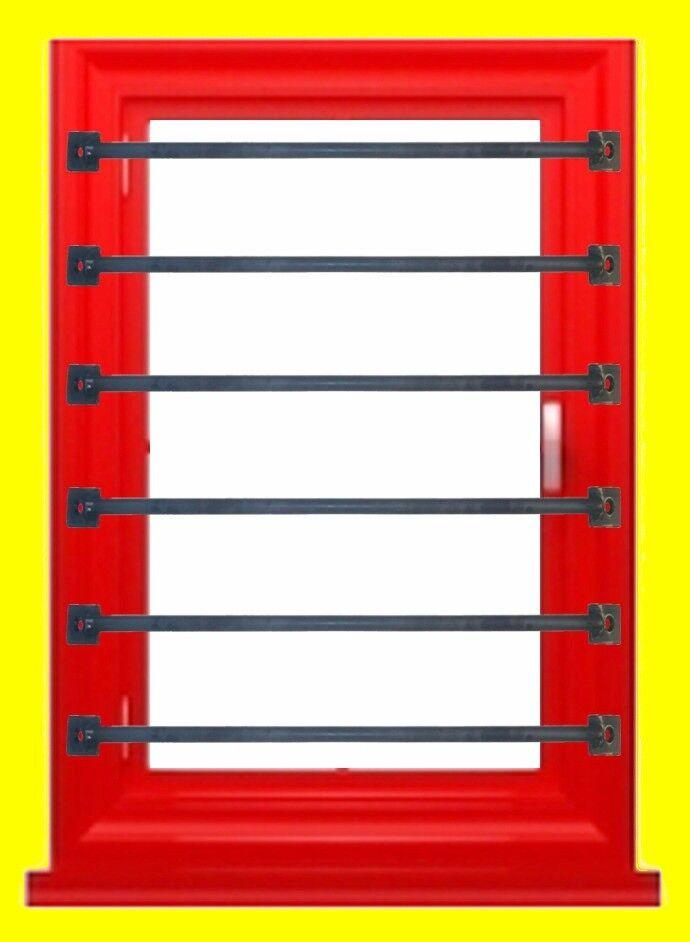 SINGULAR WINDOW SECURITY BAR BARS GRILLES