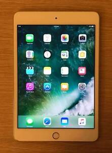 iPad mini 4th Gen Gold 128G Retina wifi only with 1 year warranty Wolli Creek Rockdale Area Preview