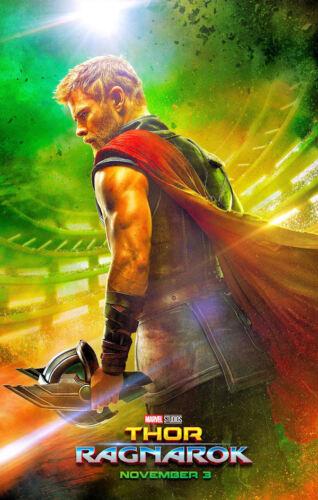 """Thor - Ragnarok ( 11"""" x 17"""" ) Movie  Collector"""