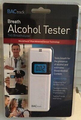 BACtrack Breath Alcohol Tester T60 Breathalyzer MicroCheck Plus Advanced Sensor