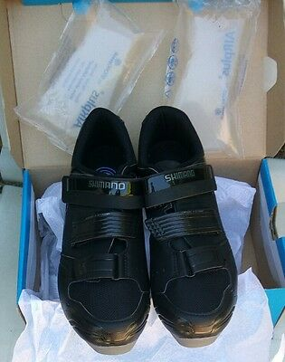 ZAPATILLAS SHOES MTB SHIMANO SH-XC31 NEGRAS + CALAS SPD