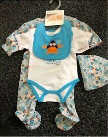 Brand new baby boy clothes bundle