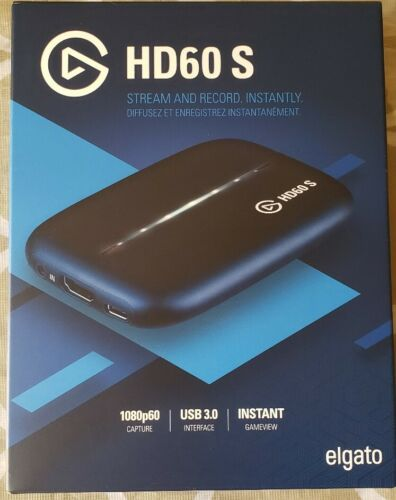 NEW Elgato HD60 S Game Capture Card Free Fast Shipping - $150.00