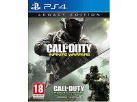 PS4 and Xbox one infinite warfare legacy edition BRAND NEW