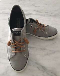 SPERRY SEACOAST SNEAKERS IN BURNISHED GREY!