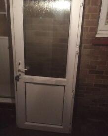 Up bc front door in white width 880 height 2050