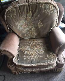 Super comfy armchair