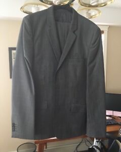 Light charcoal grey suit - $60 OBO