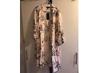 Floral kimono size 10 new with tags