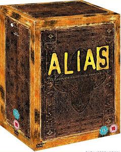 ALIAS - Complete Series 1-5 Collection Boxset (NEW DVD R4)