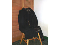 Dark Grey Mans wool/cashmere duffle coat