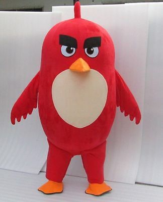 TOP SELLING New Angry Birds Mascot costume adult for kids party or function  (Bird Costume For Adults)