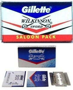 Gillette wilkinson sword razor blades double edge safety razor blade 100 pc