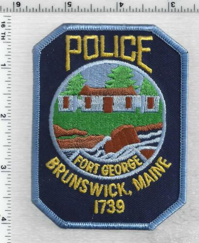 Brunswick Police (Maine) 3rd Issue Shoulder Patch