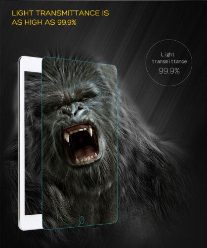 Premium Tempered Glass Screen Protector for iPad 2017 Air Mini 4 Pro 10.5 9.7