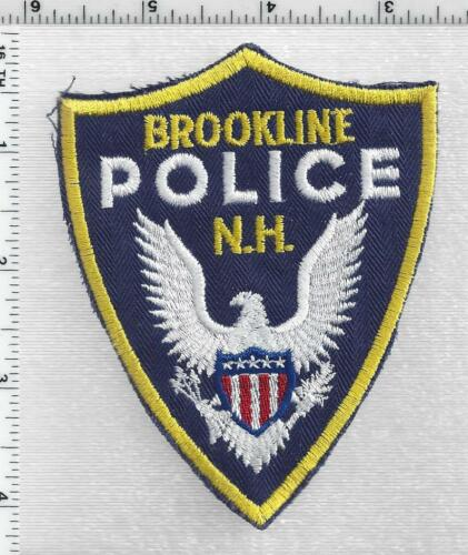Brookline Police (New Hampshire) 1st Issue Shoulder Patch