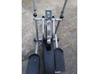 Air elliptical strider