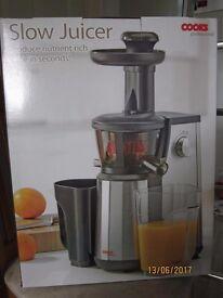 slow juicer - brand new