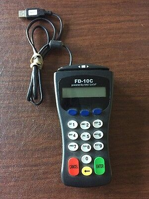 First-data Fd-10c Pin Pad Model 8002 Usb