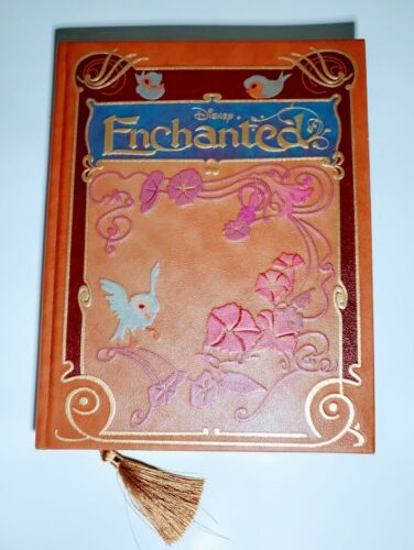 Disney Enchanted Storybook Replica Journal Lined Pages Gold Tassel & Edges New