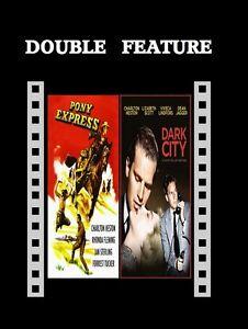 Pony Express / Dark City ( Charlton Heston ) for Region 2 NEW DVD