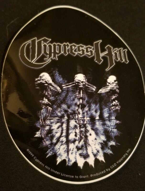 Cypress Hill - Skeletons Logo Hip Hop Rap sen dog b-real 1990s rare stoner music