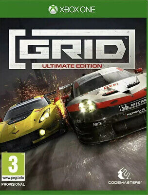 GRID - ULTIMATE EDITION XBOX ONE GAME BRAND NEW & SEALED. Free UK P&P