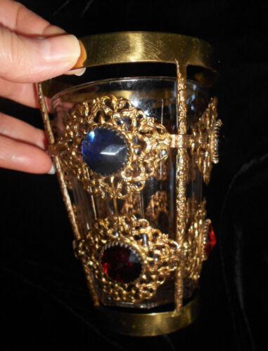 Antique Jeweled Ormolu Vase