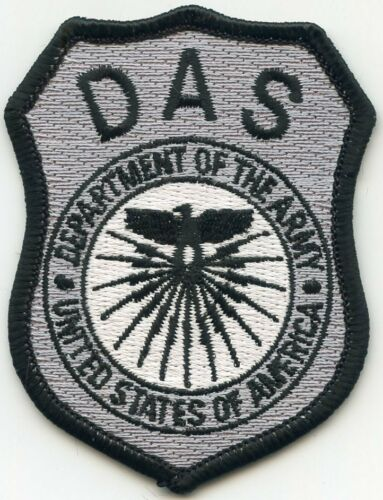 DEPARTMENT OF THE ARMY WASHINGTON DC small MILITARY DAS police PATCH