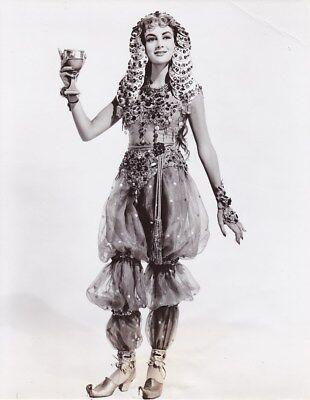 BOBBIE WHITE Exotic Slave Girl Starlet Vintage THE PRODIGAL MGM Costume Photo (Slave Girl Costume)