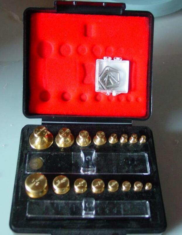 TROEMNER-Brass-Scale-Calibration-Set