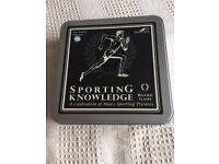 Sporting knowledge board game