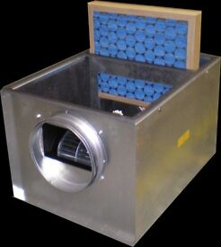 air ventilation Quiet case airflow fan and filter units