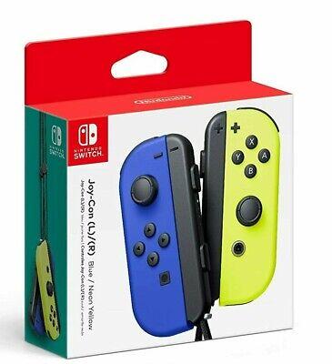 Nintendo Blue/ Neon Yellow Joy-Con (L-R) - Switch New