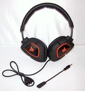 tritton ax180 gaming headset triton headphones ax 180 with. Black Bedroom Furniture Sets. Home Design Ideas