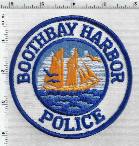Boothbay Harbor Police (Maine) 1st Issue Shoulder Patch