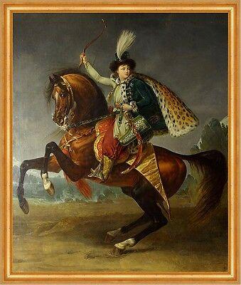 Equestrian portrait of prince Boris Yusupov Antoine-Jean Gros Reiten B A2 00595 ()