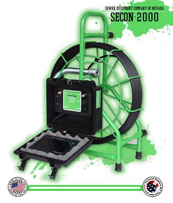 125 Pipe Inspection Camera Sewer Duct Hvac Chimney 512hz Sonde Usa Sewer Camera