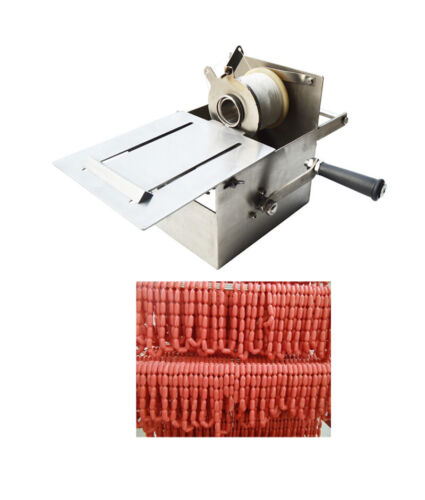 INTBUYING Hand-rolling Sausage Tying&Knotting Machine for Commercial 42mm Newest