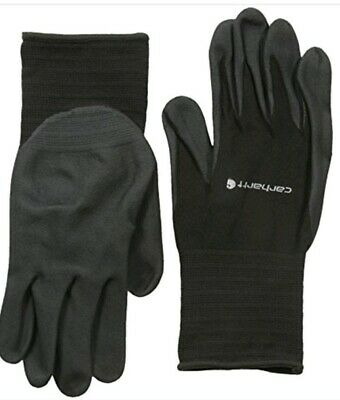 Carhartt Mens All Purpose Micro Foam Nitrile Dipped Glove Size Lg