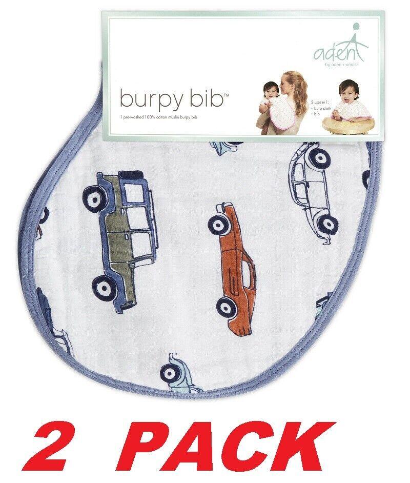 Aden by Aden + Anais Burpy Bib Baby Toddler bib and burp clo