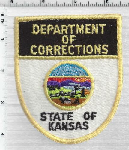 Department of Corrections Police (Kansas) 1st Issue Shoulder Patch