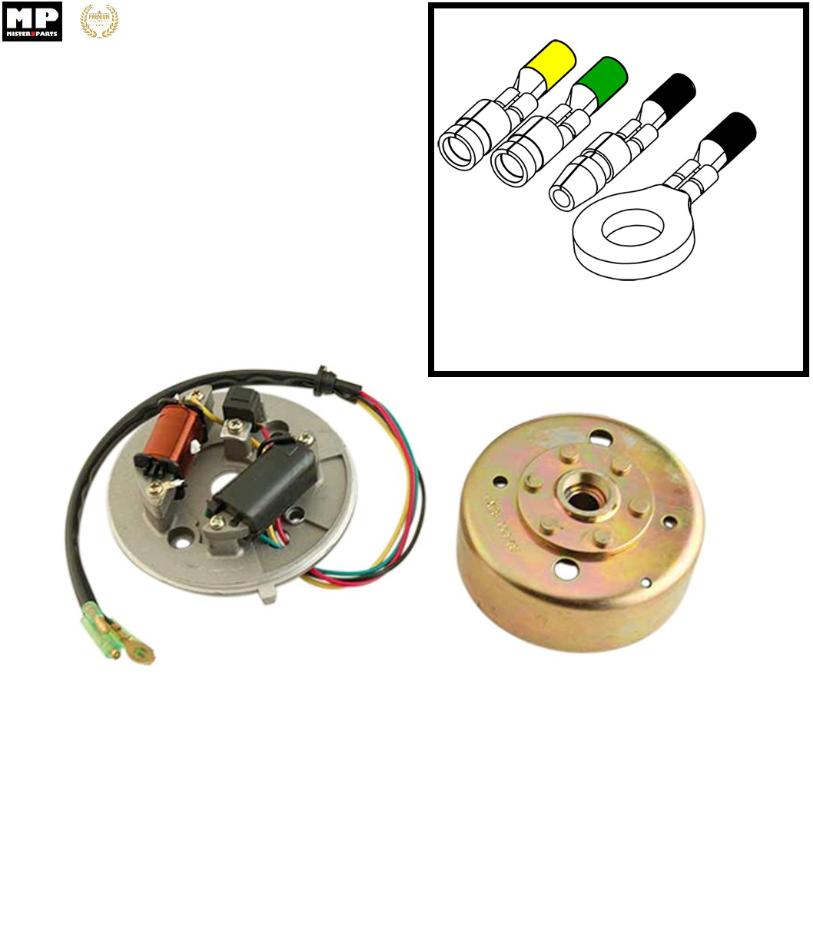 allumage electronique mobylette motobecane mbk