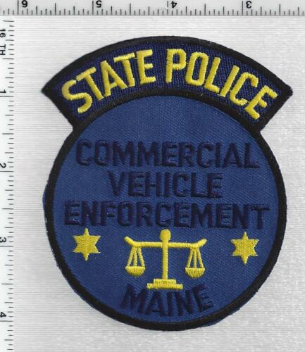 State Police Commercial Vehicle Enforcement (Maine) 1st Issue Shoulder Patch