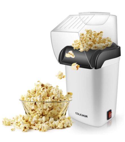 COLICIKSR Hot Air Popcorn Maker,Popcorn Machine