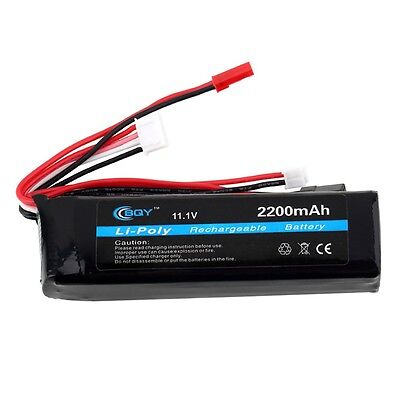 Hot Power 11.1v 2200mah 20C Lithium Battery Li-Polymer Rechargeable Battery EH