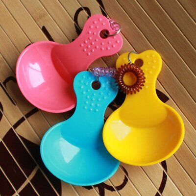 Pet Dog Puppy Cat Food Feeder Scoop Spoon Durable Shovel Spade Dishes Tool #