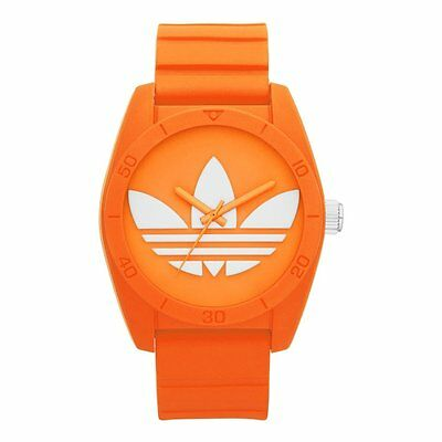 Adidas Unisex ADH6173 Orange Silicone Strap Analog Quartz Watch